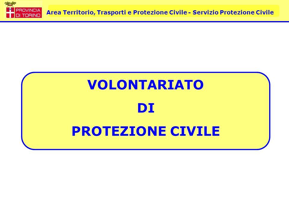VOLONTARIATO DI PROTEZIONE CIVILE
