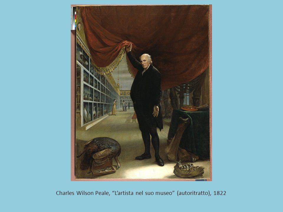 Charles Wilson Peale, L'artista nel suo museo (autoritratto), 1822