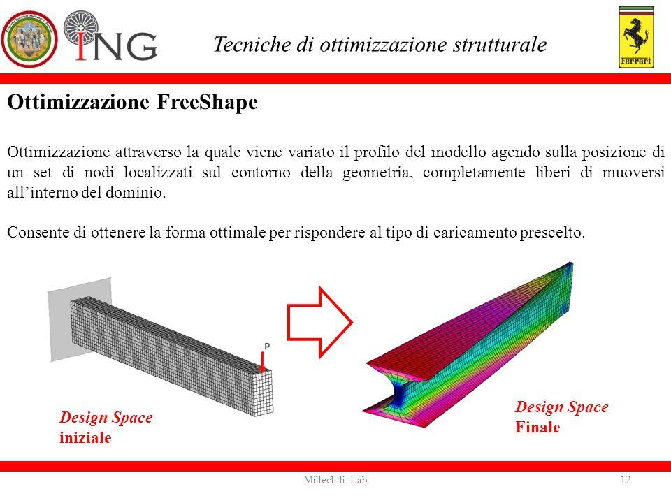 Tecniche di ottimizzazione strutturale