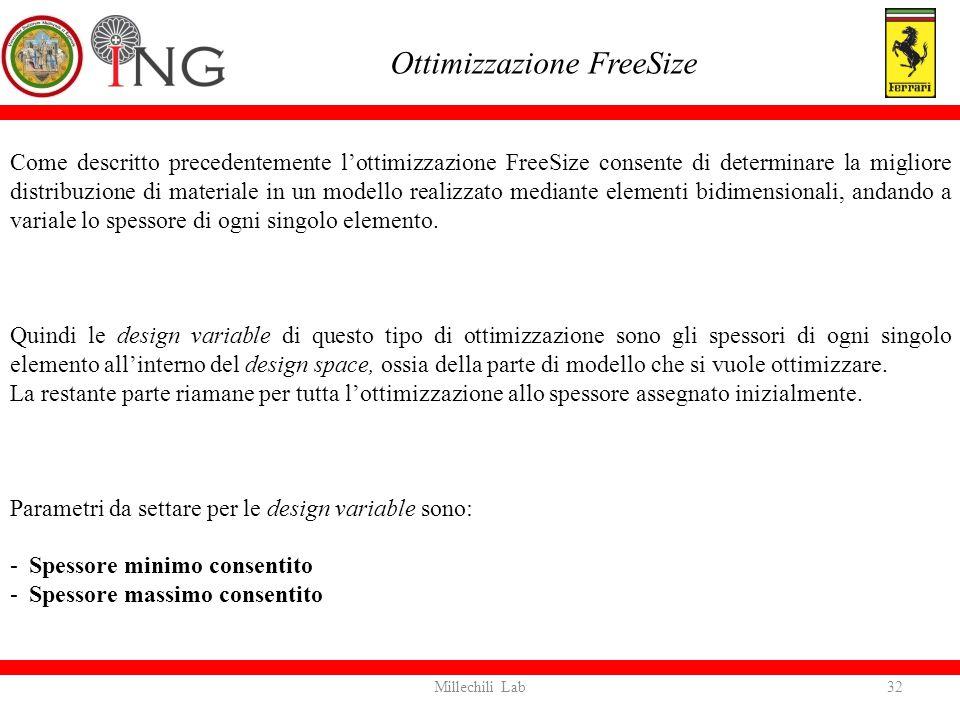 Ottimizzazione FreeSize