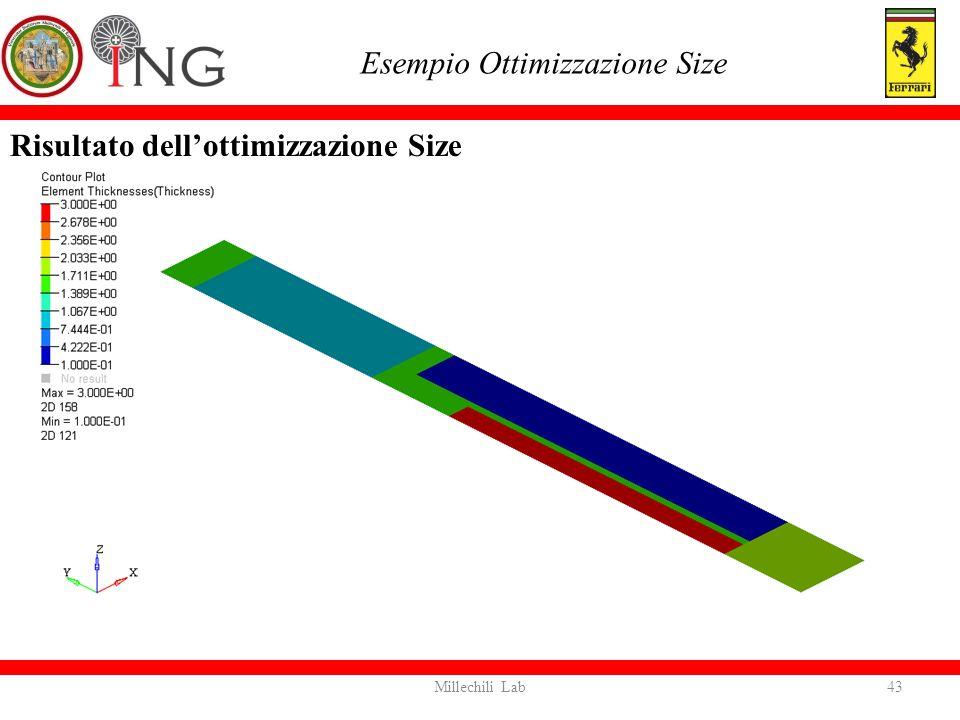 Esempio Ottimizzazione Size