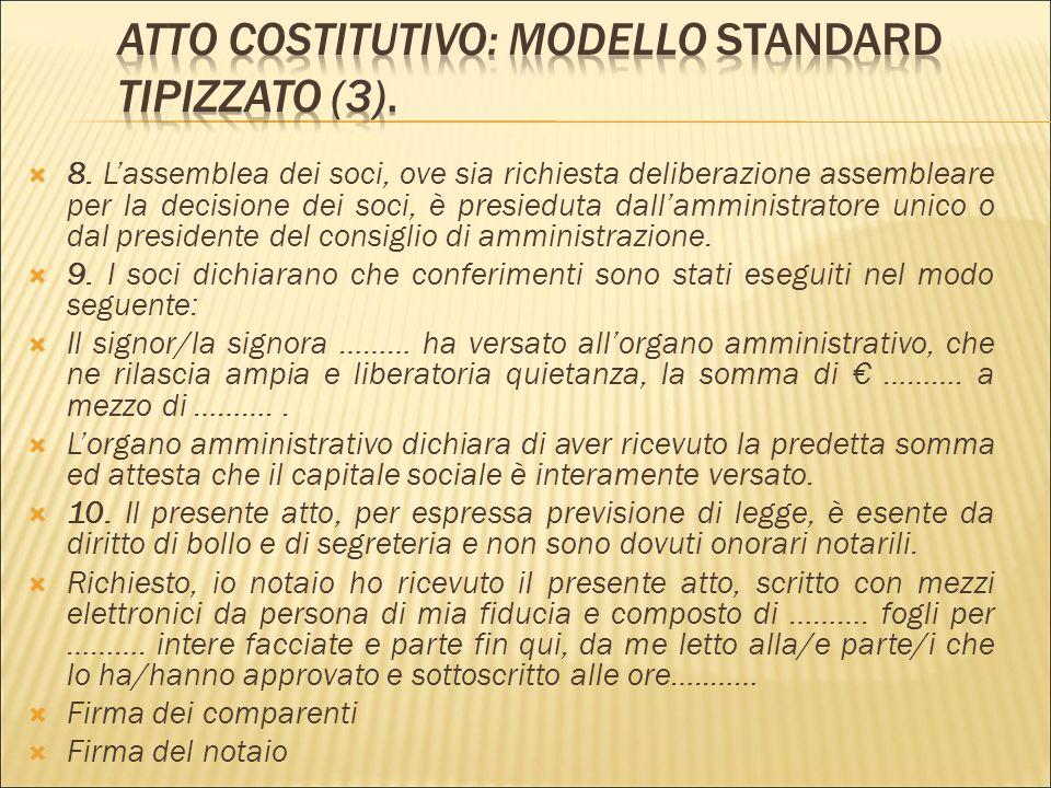 Atto Costitutivo: modello standard tipizzato (3).
