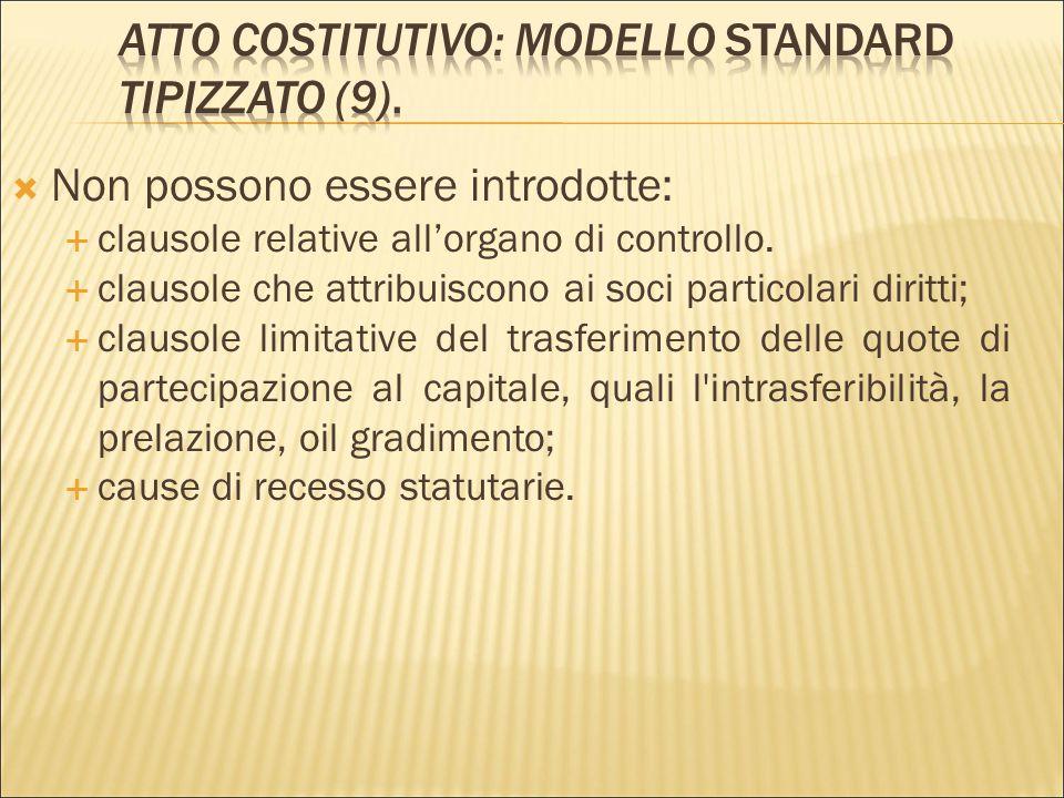 Atto Costitutivo: modello standard tipizzato (9).
