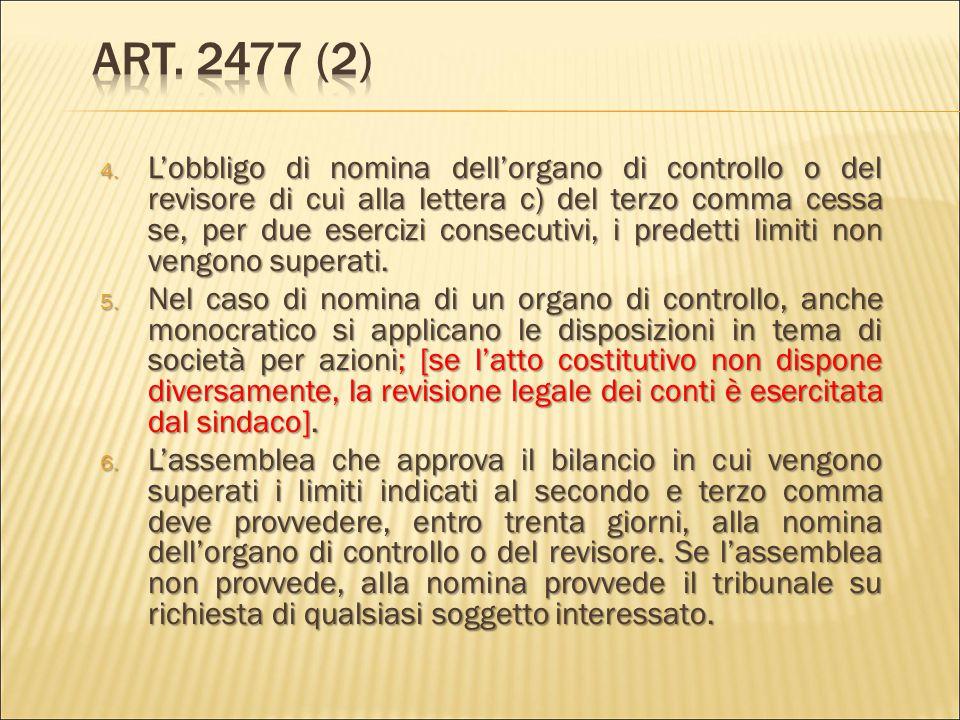 Art. 2477 (2)