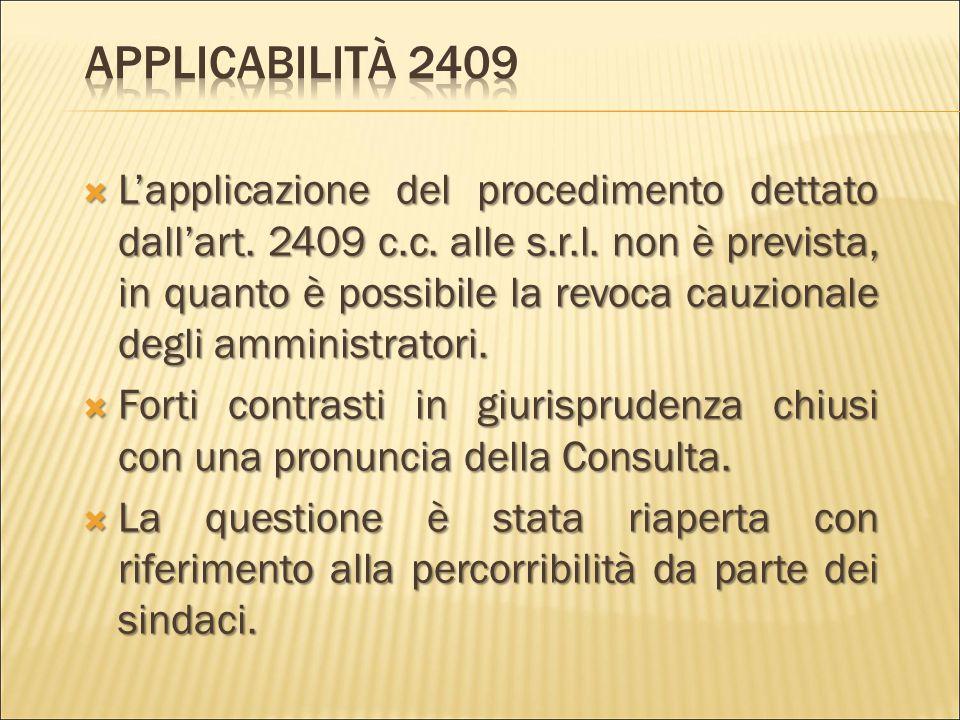 Applicabilità 2409