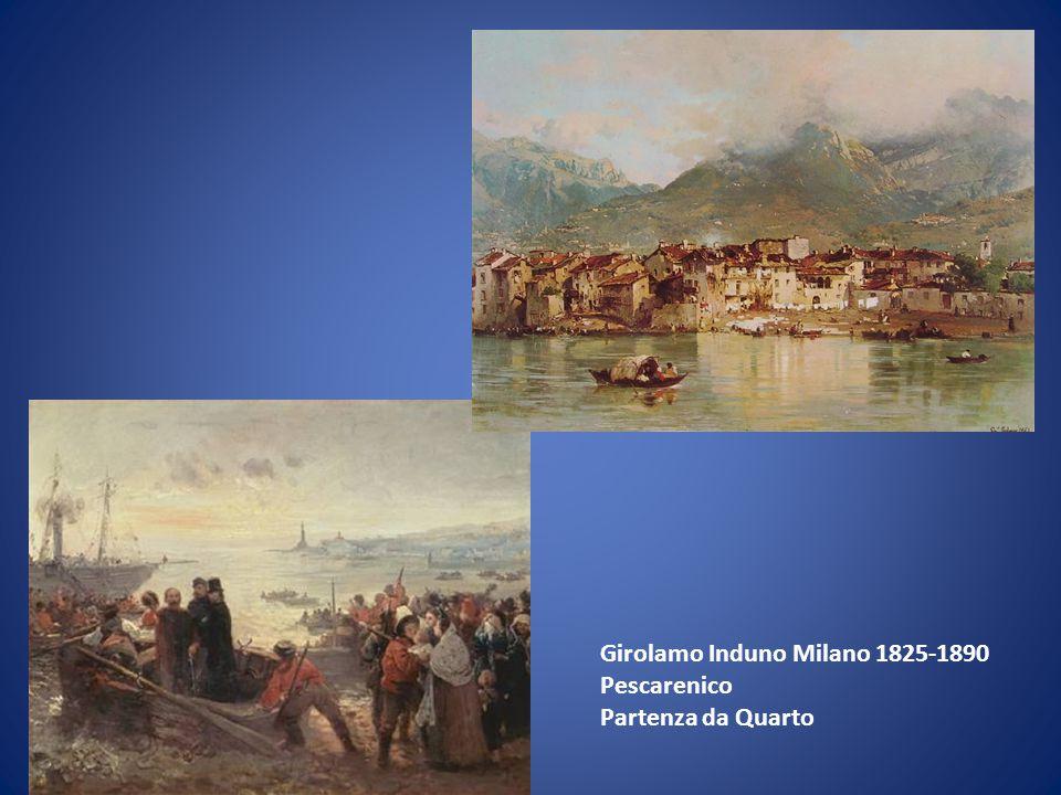 Girolamo Induno Milano 1825-1890