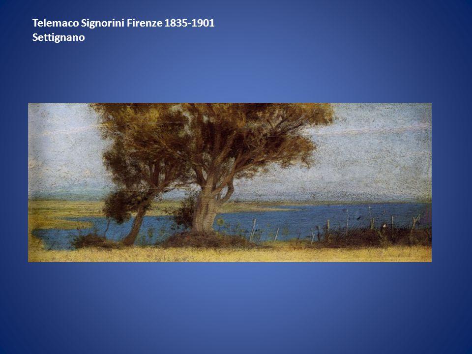Telemaco Signorini Firenze 1835-1901