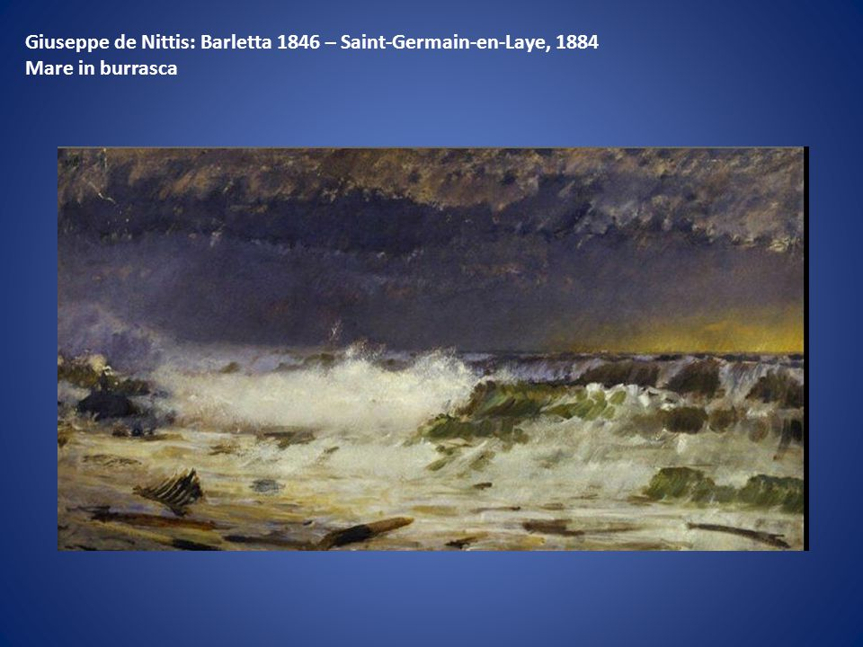 Giuseppe de Nittis: Barletta 1846 – Saint-Germain-en-Laye, 1884