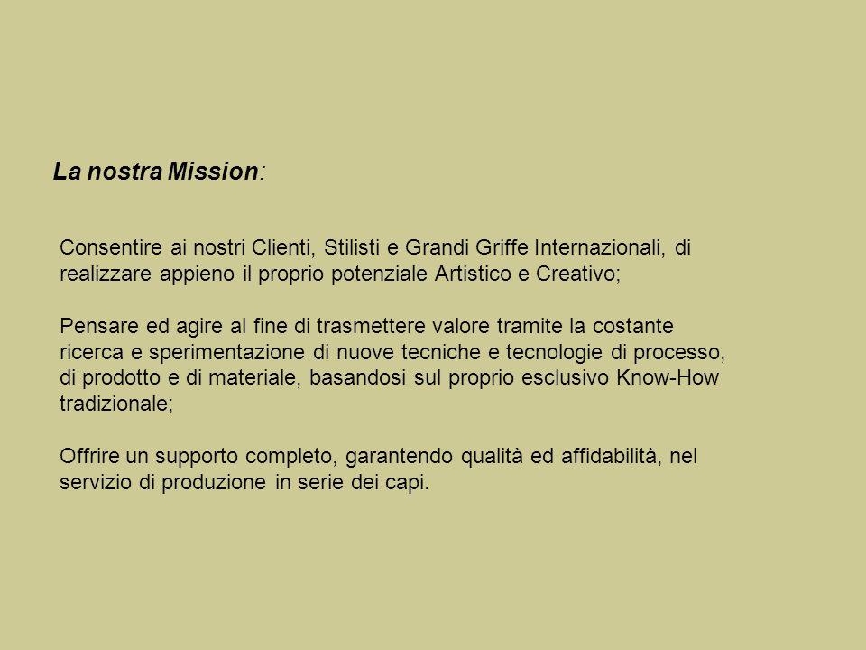 La nostra Mission: