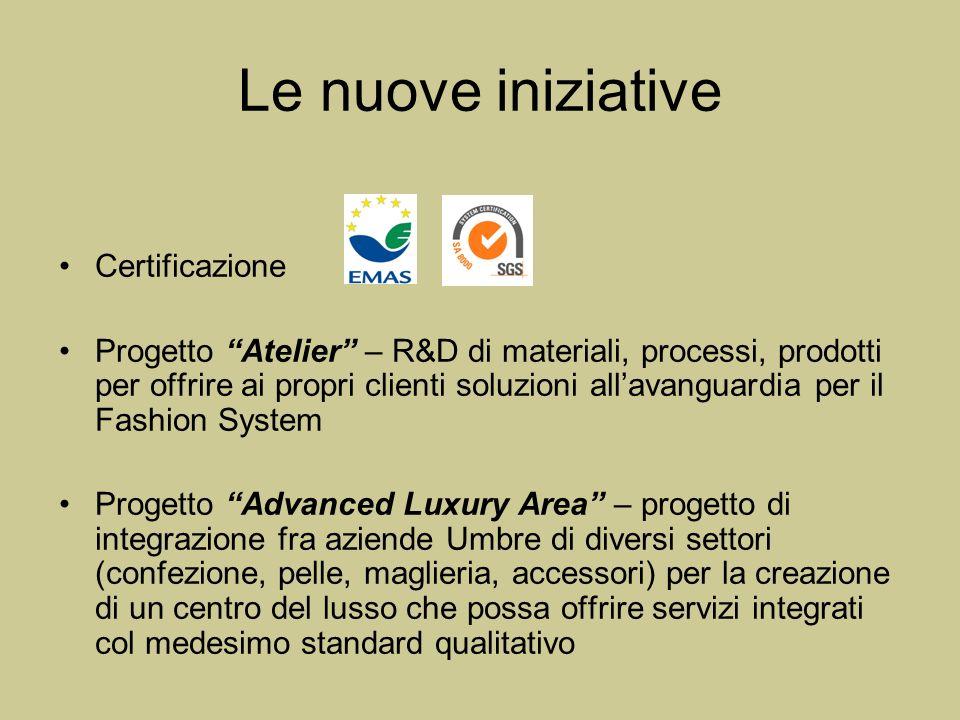 Le nuove iniziative Certificazione