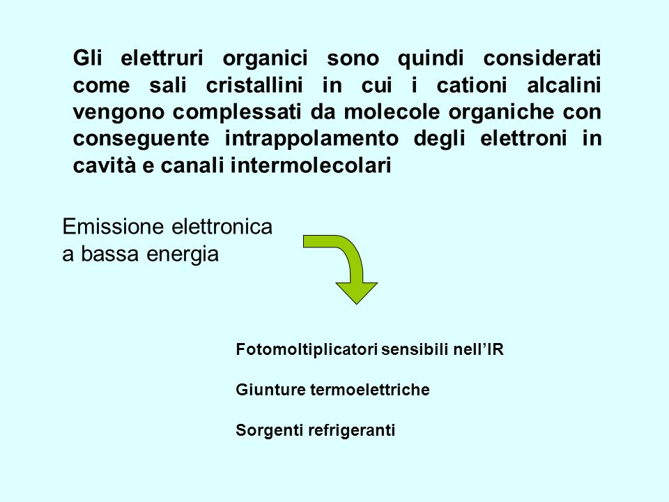 Emissione elettronica a bassa energia