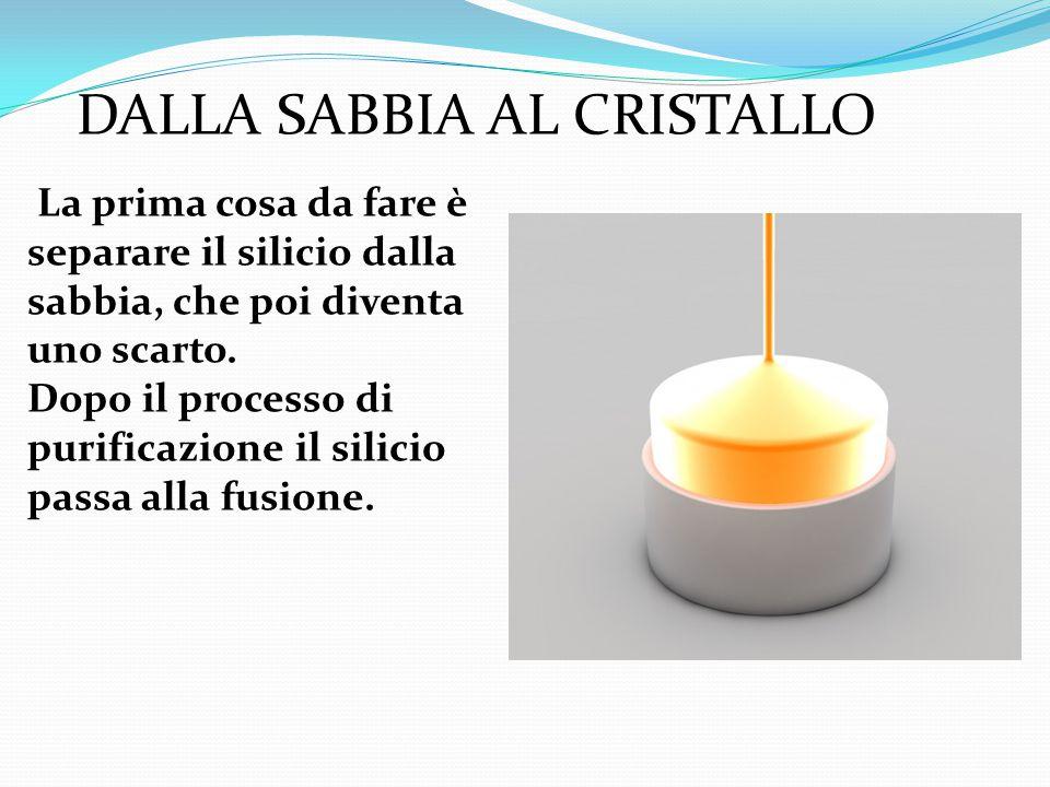 DALLA SABBIA AL CRISTALLO