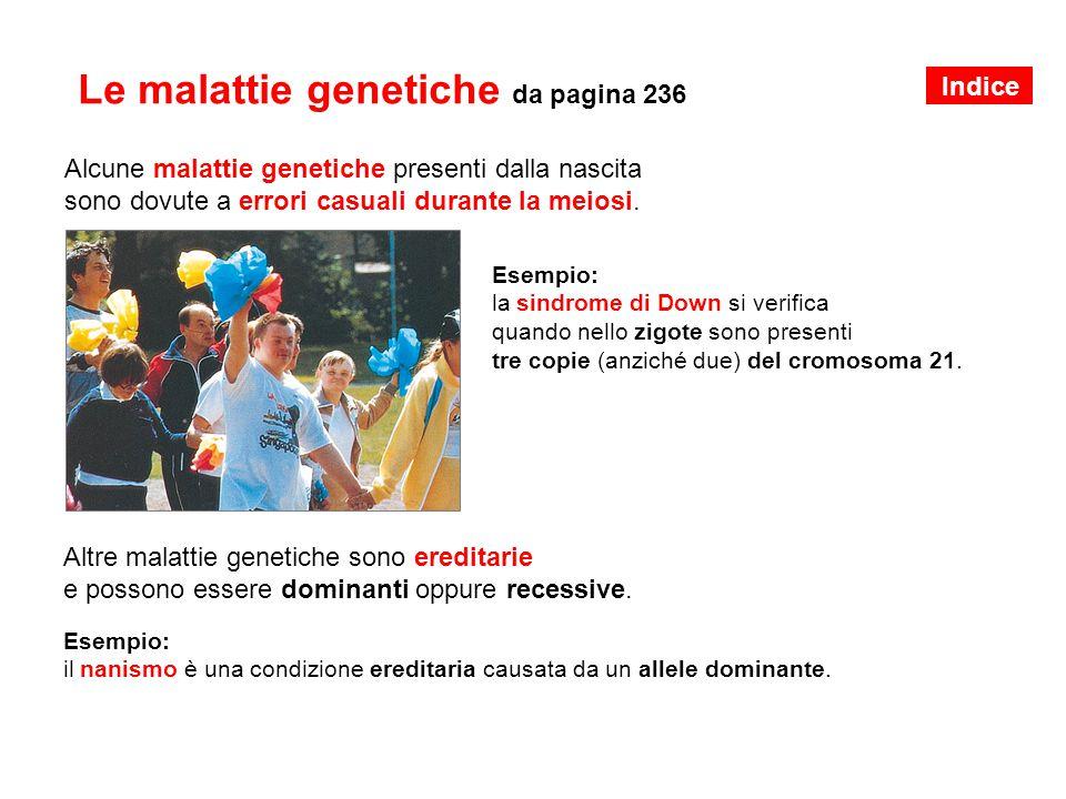 Le malattie genetiche da pagina 236