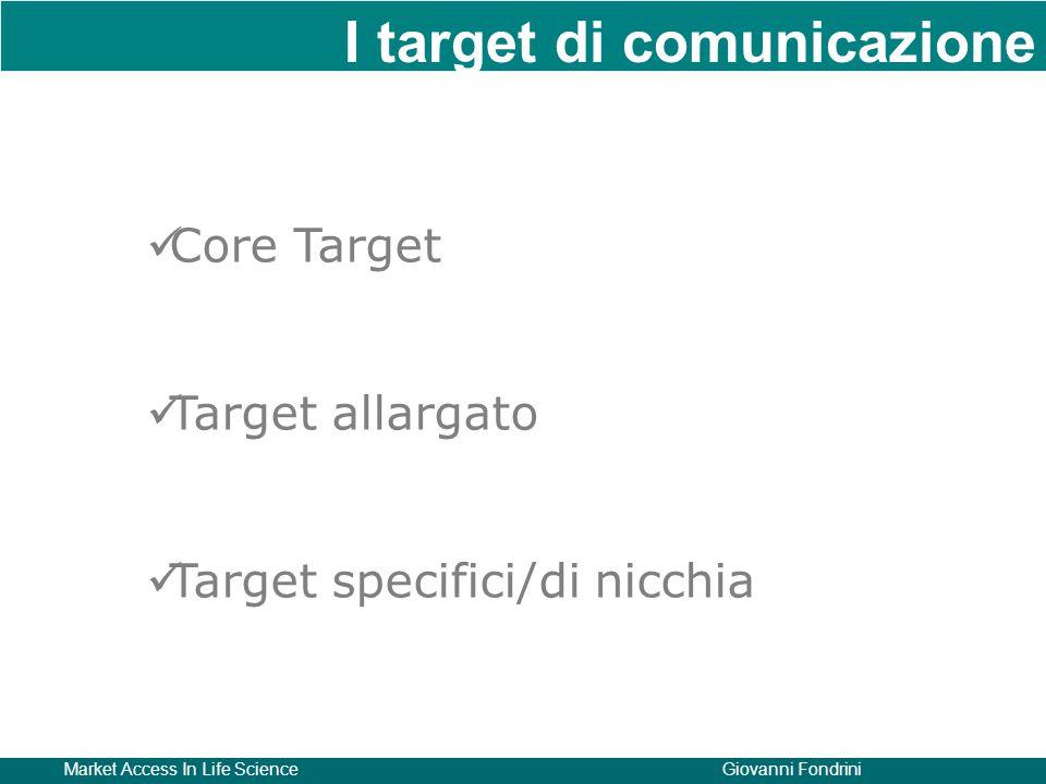 I target di comunicazione