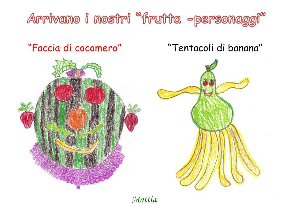 Arrivano i nostri frutta -personaggi