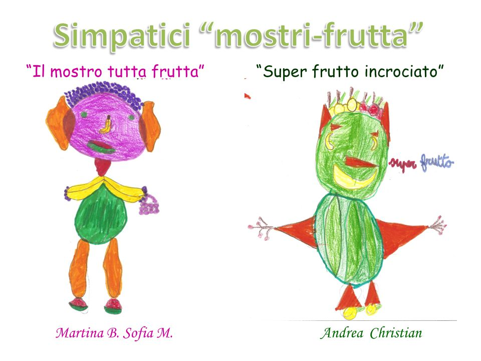 Simpatici mostri-frutta