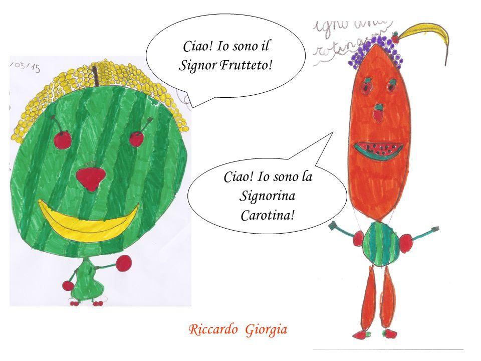 Ciao! Io sono il Signor Frutteto!