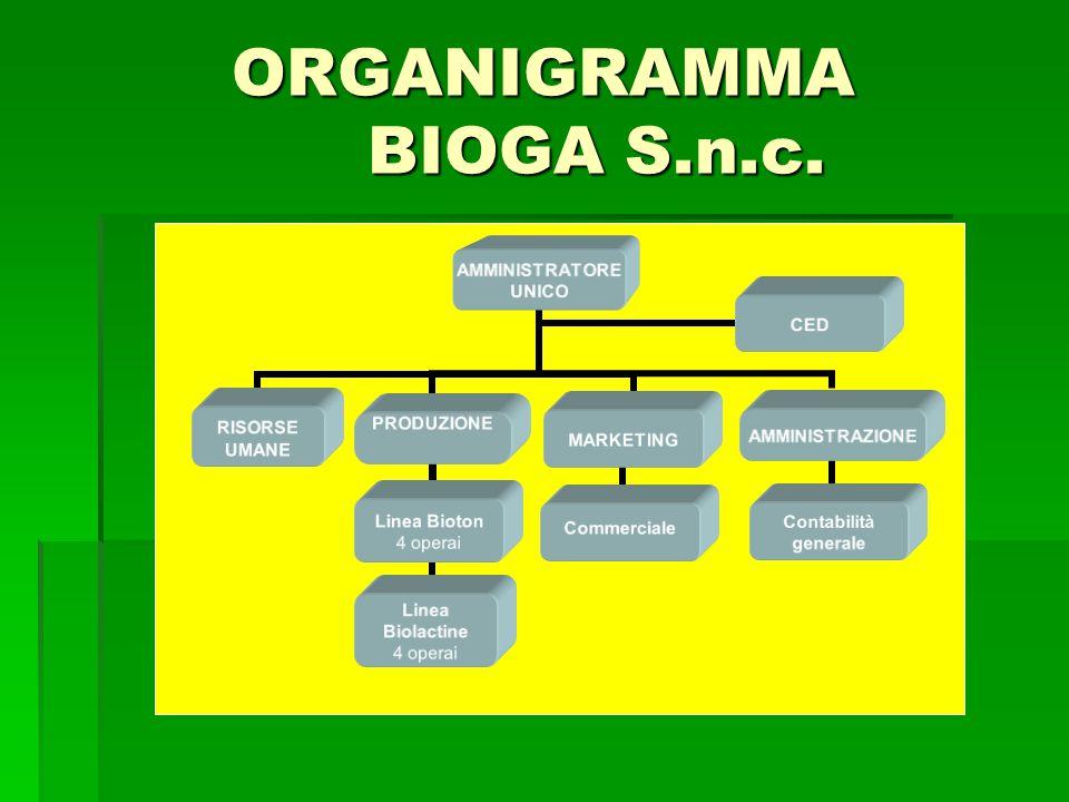 ORGANIGRAMMA BIOGA S.n.c.