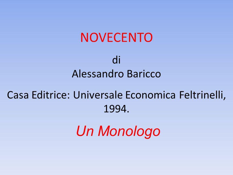 Casa Editrice: Universale Economica Feltrinelli, 1994.
