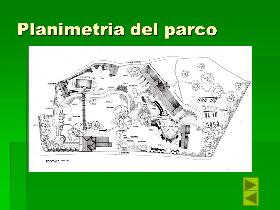Planimetria del parco