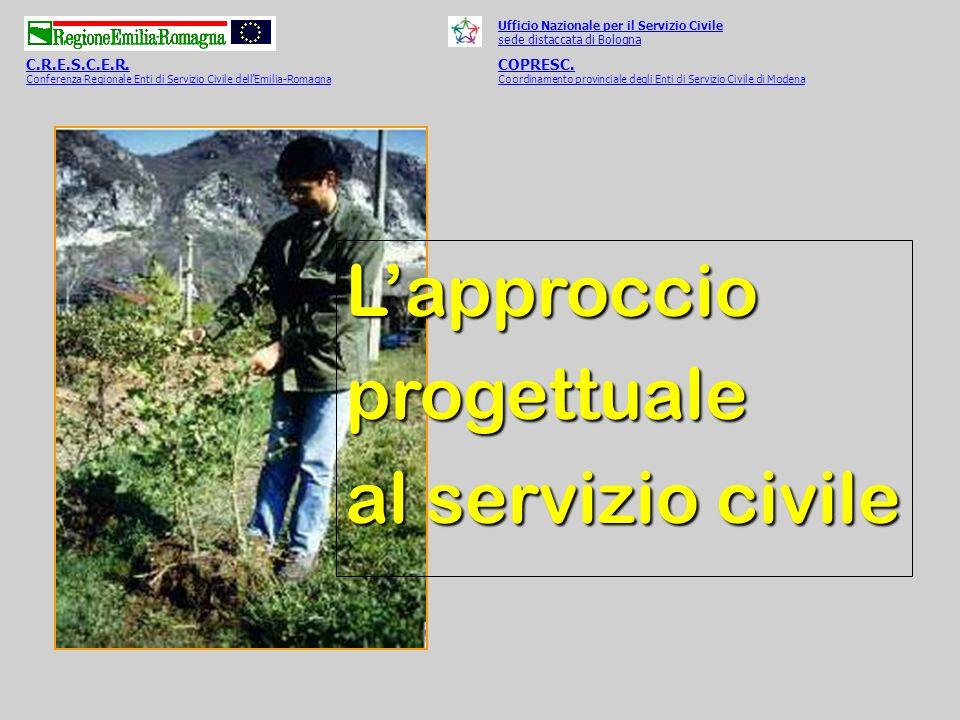 L'approccio progettuale al servizio civile