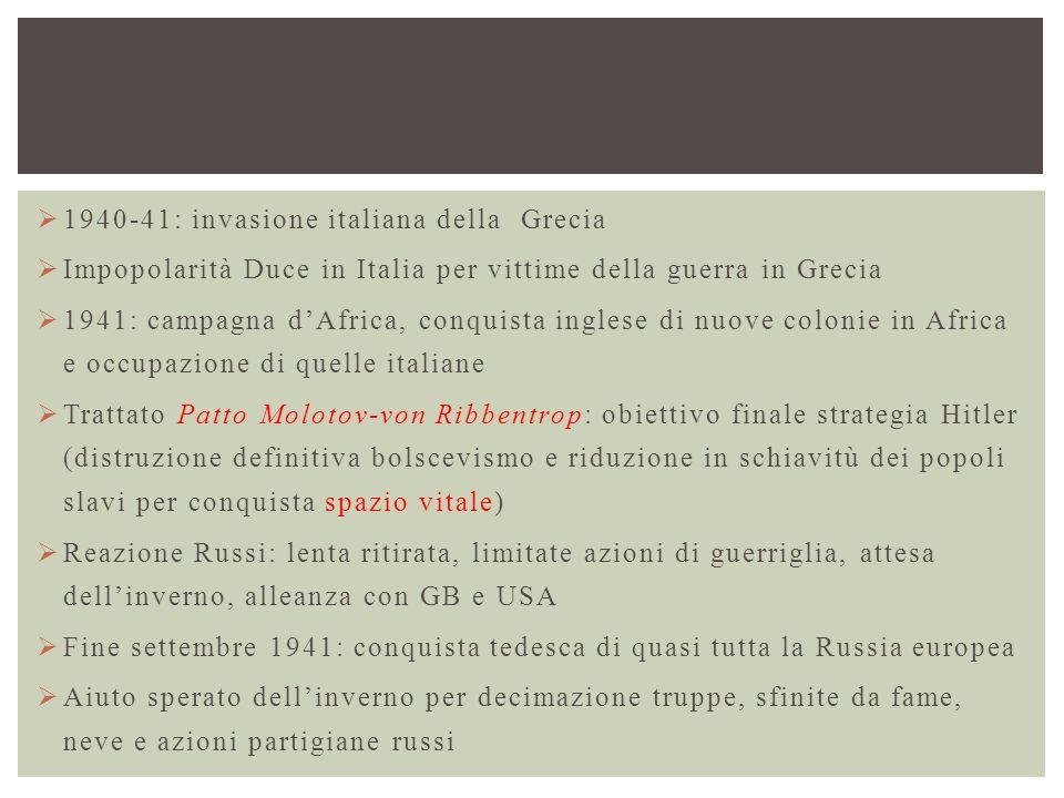 1940-41: invasione italiana della Grecia