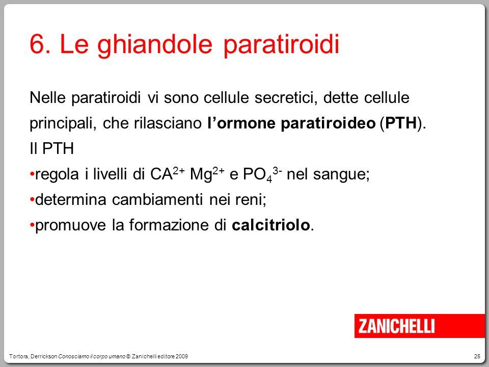 6. Le ghiandole paratiroidi