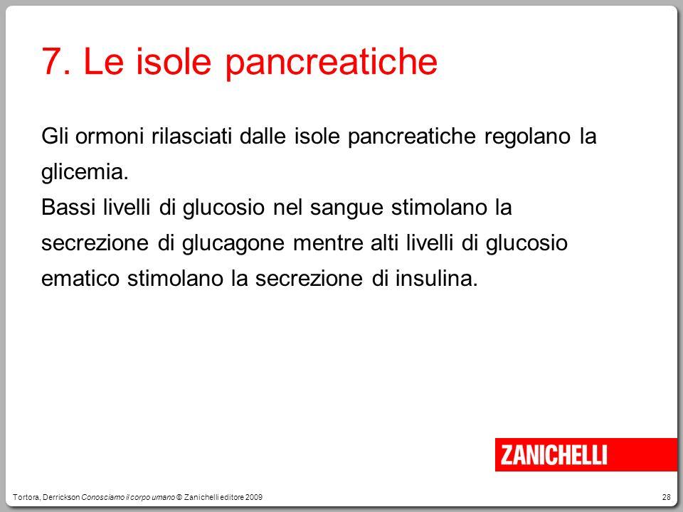 7. Le isole pancreatiche