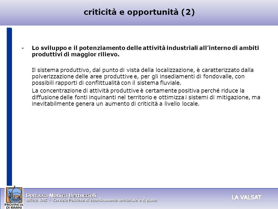criticità e opportunità (2)