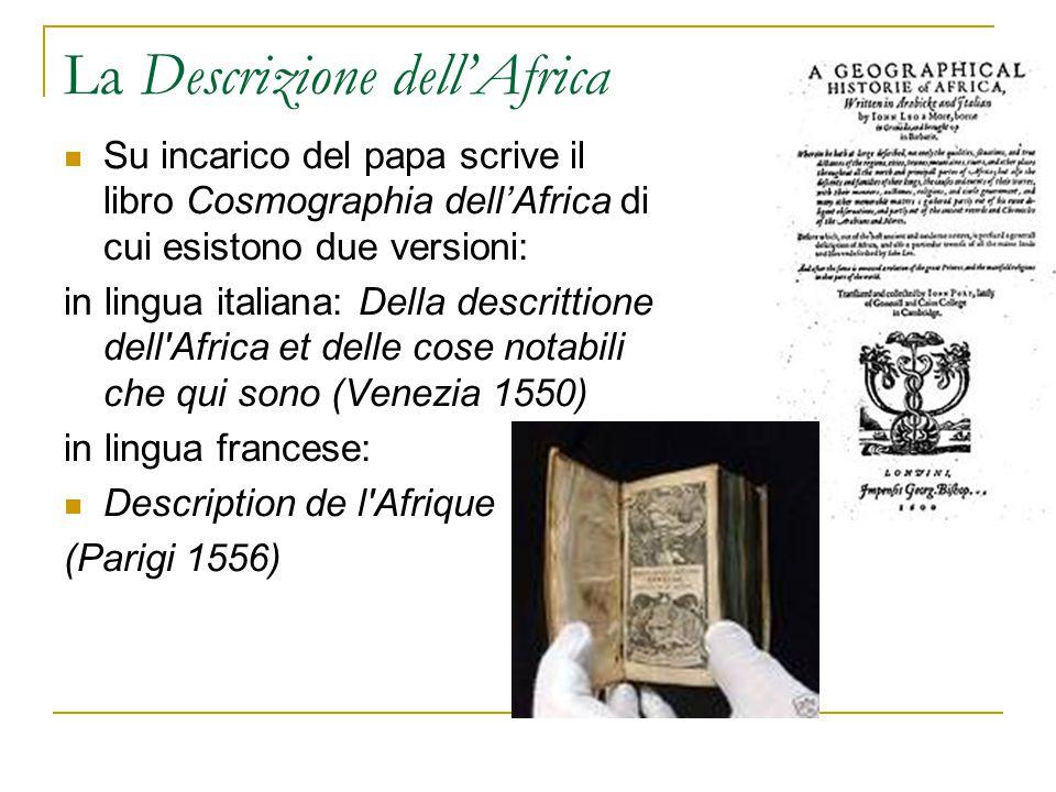 La Descrizione dell'Africa