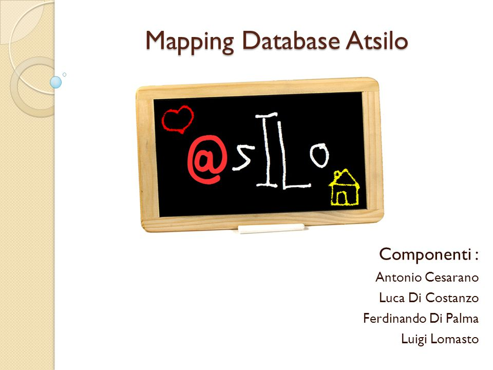 Mapping Database Atsilo