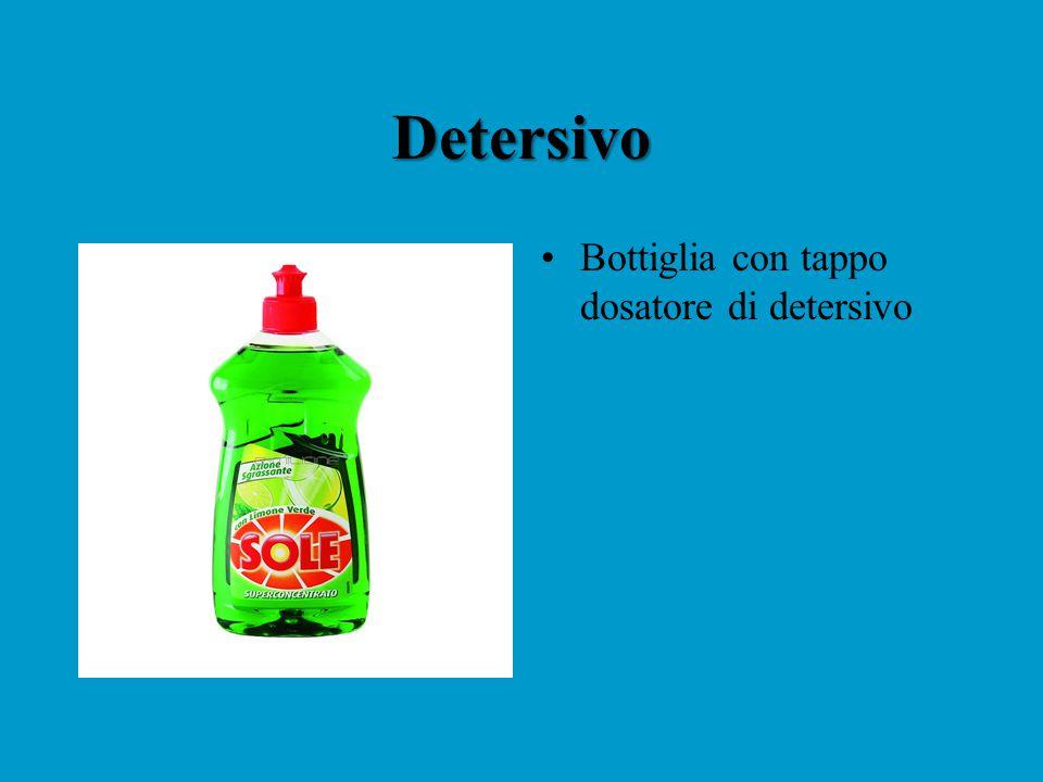 Detersivo Bottiglia con tappo dosatore di detersivo