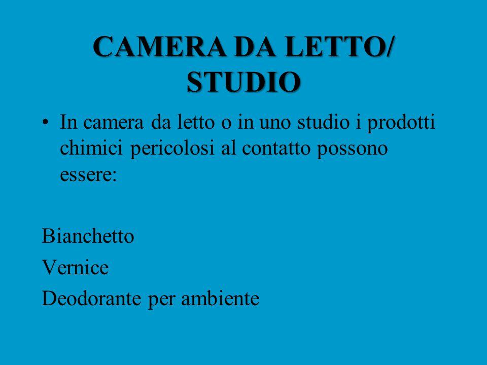 CAMERA DA LETTO/ STUDIO
