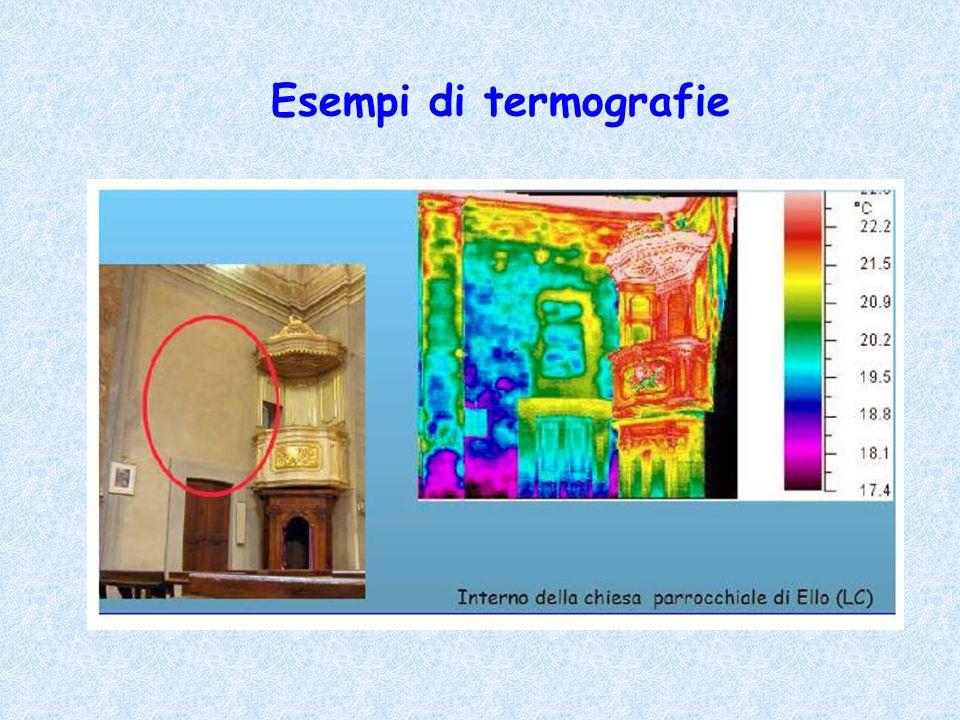 Esempi di termografie