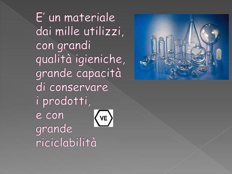 E' un materiale dai mille utilizzi, con grandi qualità igieniche, grande capacità di conservare i prodotti, e con grande riciclabilità