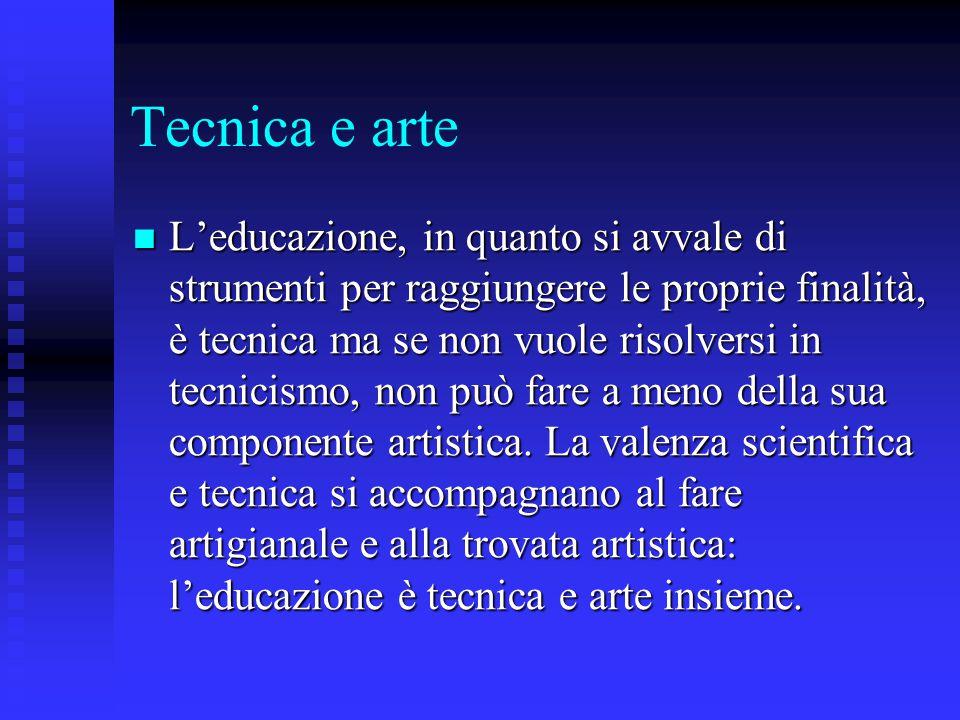 Tecnica e arte