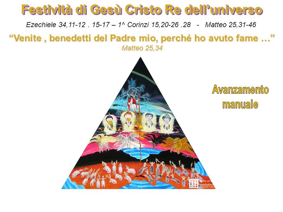 Festività di Gesù Cristo Re dell'universo