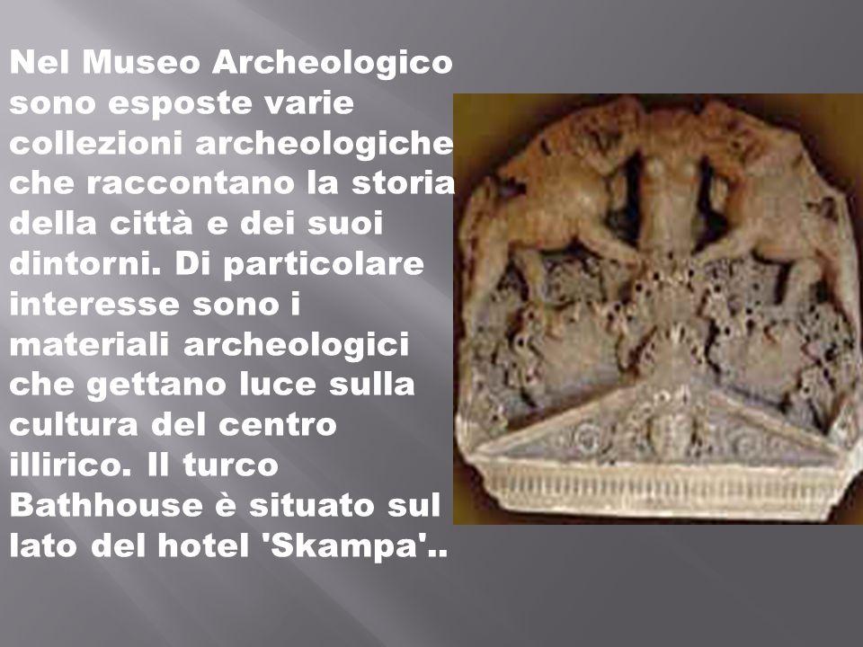 Nel Museo Archeologico sono esposte varie collezioni archeologiche che raccontano la storia della città e dei suoi dintorni.