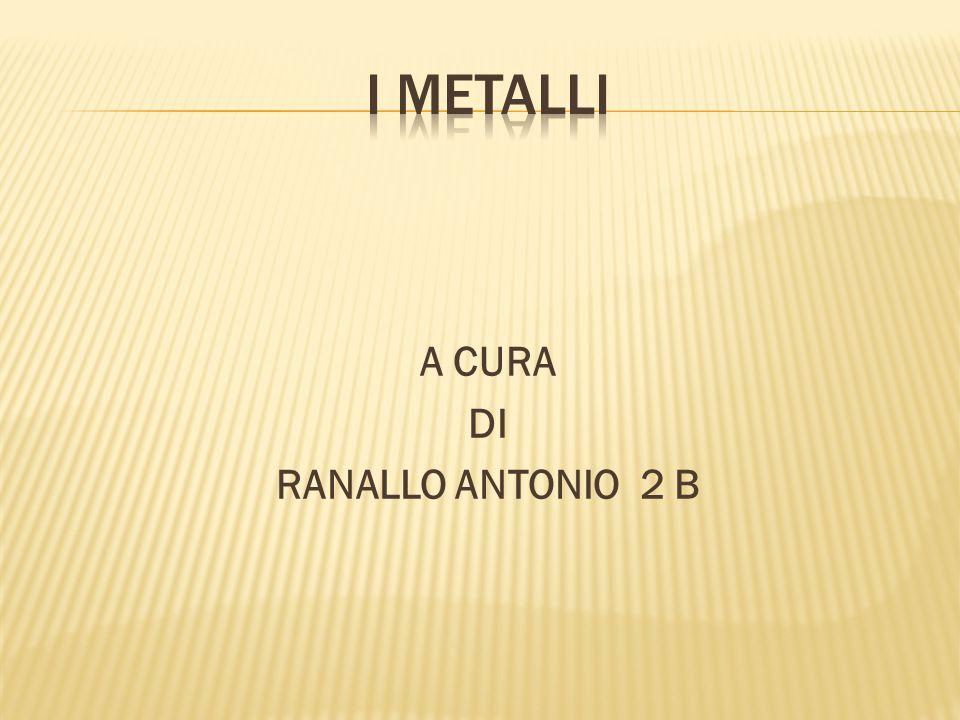 A CURA DI RANALLO ANTONIO 2 B