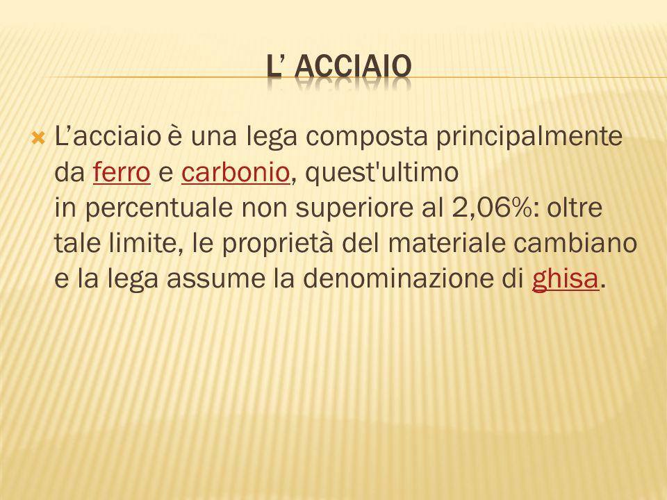 L' ACCIAIO