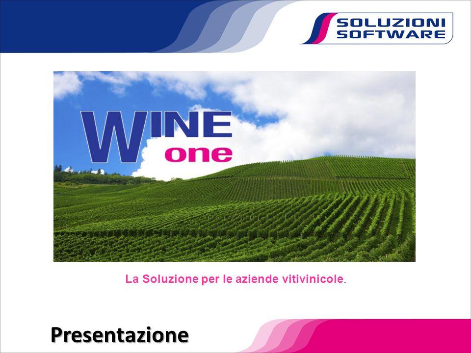 La Soluzione per le aziende vitivinicole.