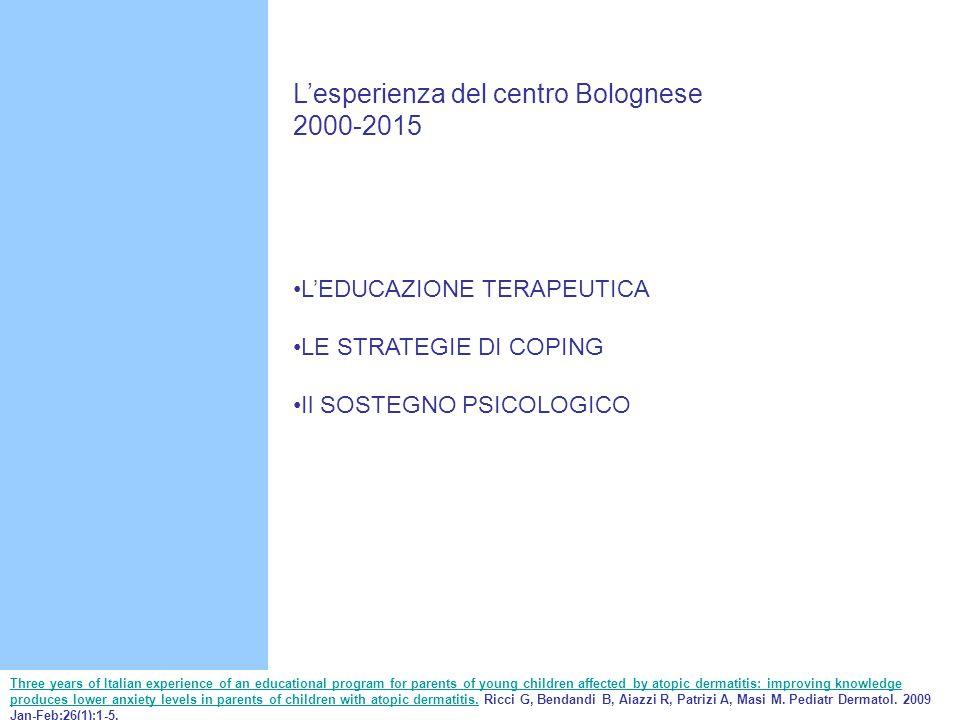 L'esperienza del centro Bolognese 2000-2015