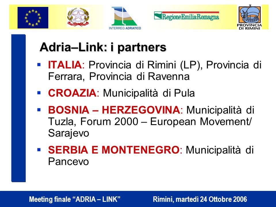 Adria–Link: i partners