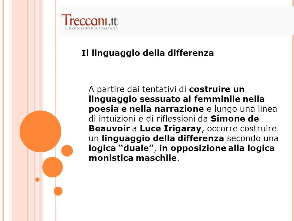 Il linguaggio della differenza