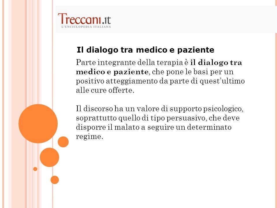 Il dialogo tra medico e paziente