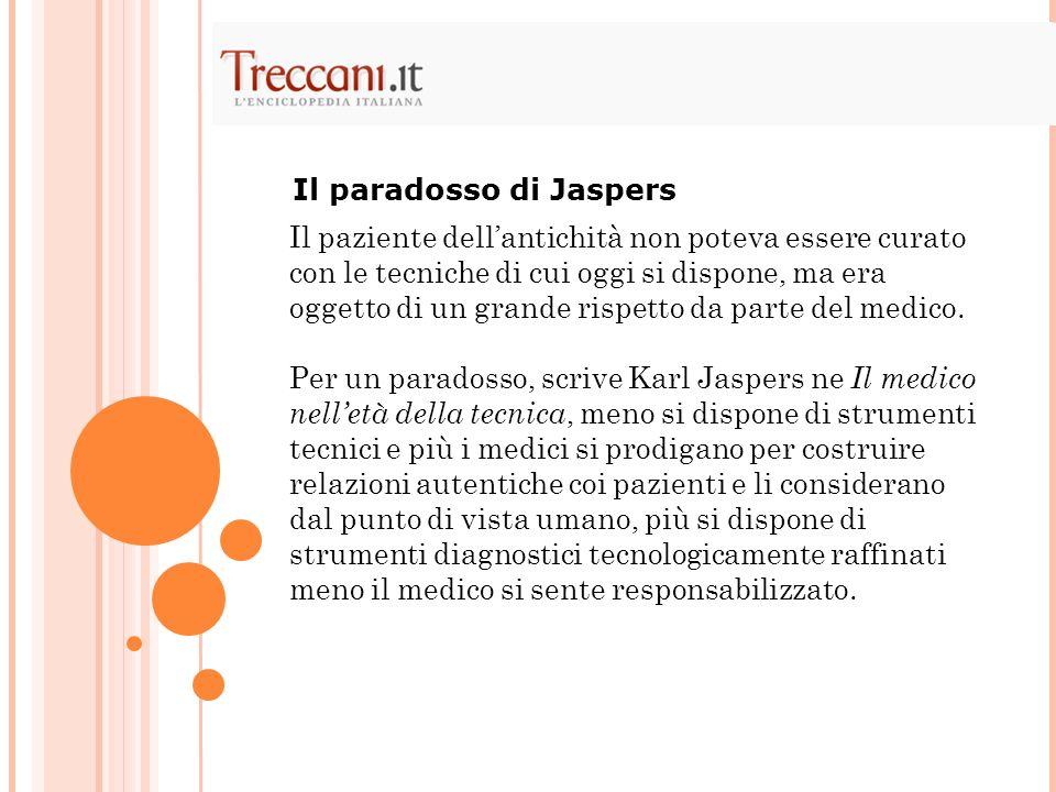Il paradosso di Jaspers