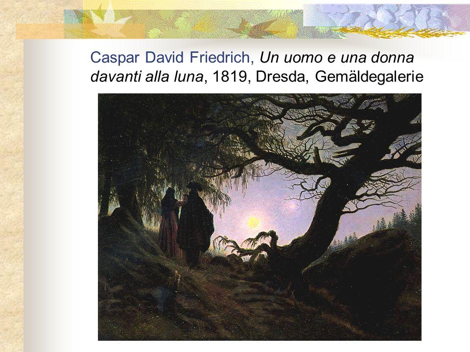 Caspar David Friedrich, Un uomo e una donna