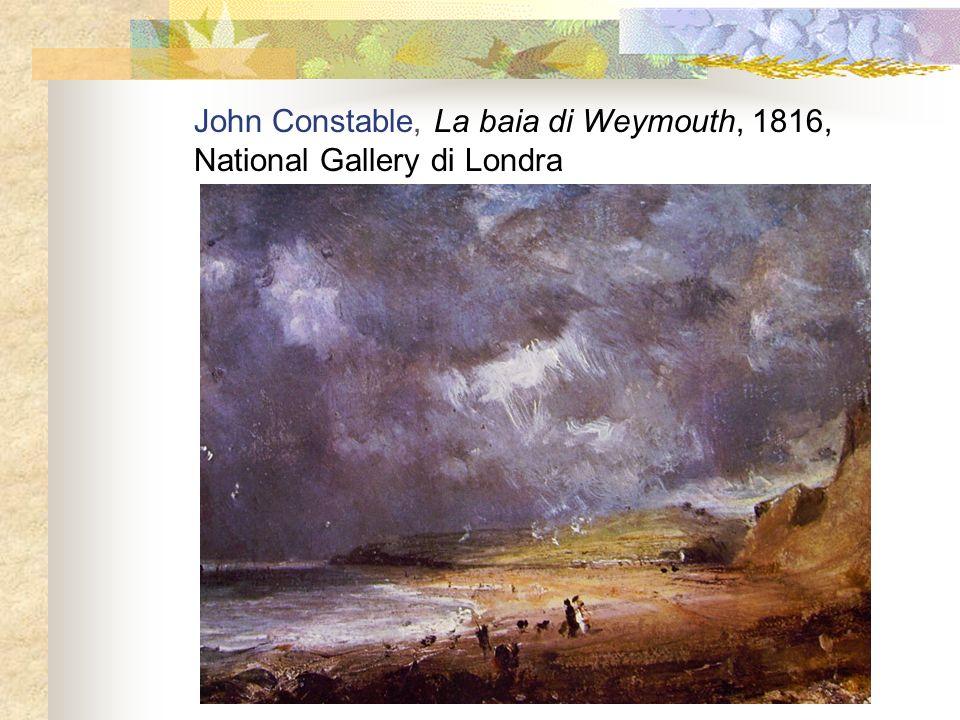 John Constable, La baia di Weymouth, 1816,