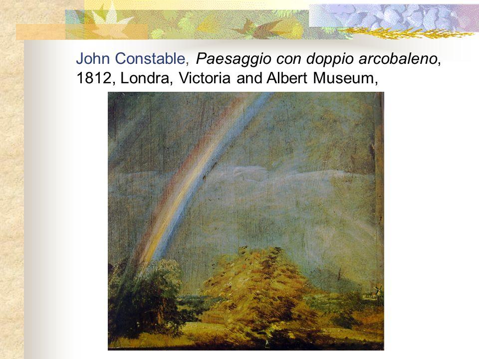 John Constable, Paesaggio con doppio arcobaleno,