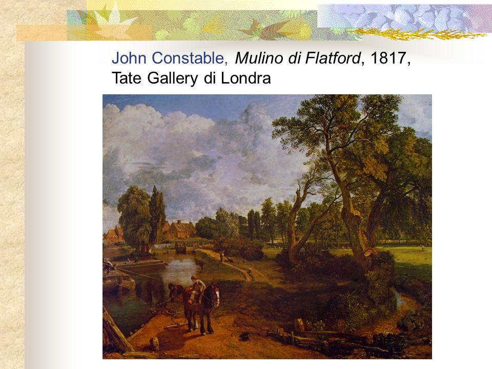 John Constable, Mulino di Flatford, 1817,